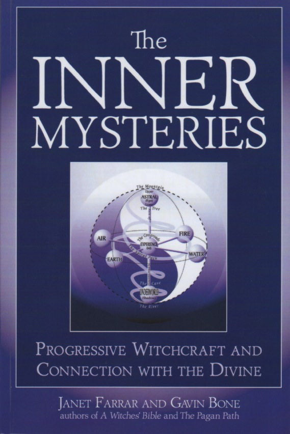 The Inner Mysteries by Janet Farrar and Gavin Bone