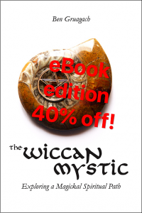 The Wiccan Mystic - eBook edition 40% off!